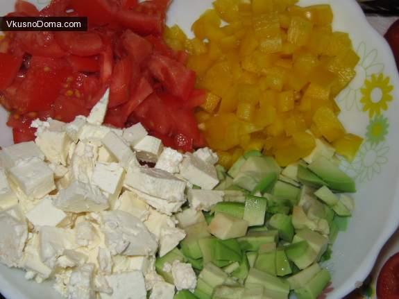 Рецепт салата цезарь с брынзой пошагово