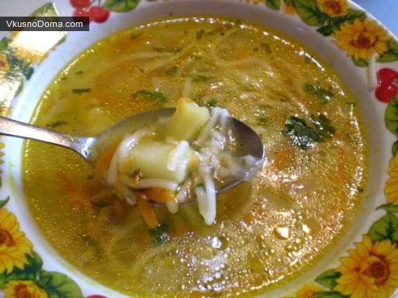 Суп из курицы мастер класс