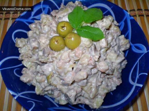 салат дубочек рецепт