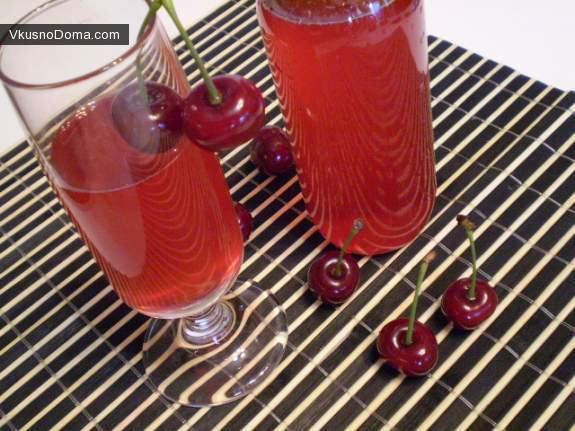 рецепты вишневой наливки в домашних условиях с фото