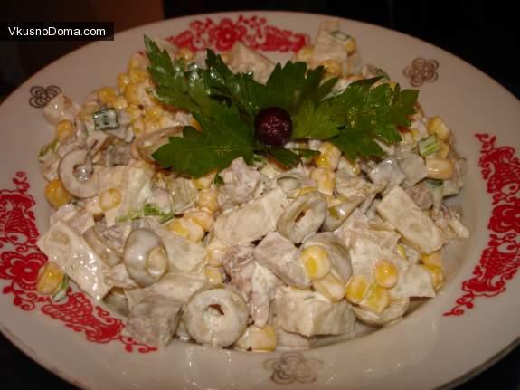 полезные салаты с фото и рецептами