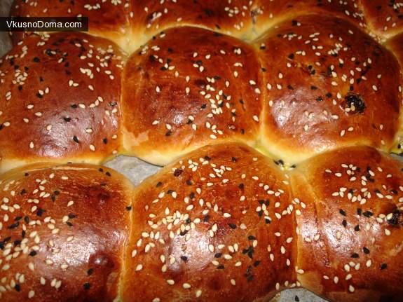 советские булочки рецепт с фото