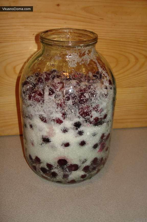 Настойка на вишне в домашних условиях рецепт 383