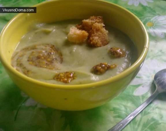 суп пюре из брокколи рецепты приготовления вкусно